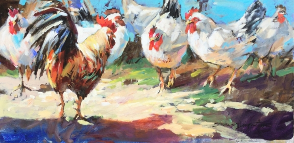 Nobody Here But Us Chickens