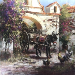 Brent-Heighton-A-Mexican-Standoff-36x36-2021